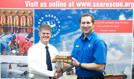 Best Crewman - Clifford Ireland (Presented to Clifford by Deputy Station Commander Andre Fletcher).