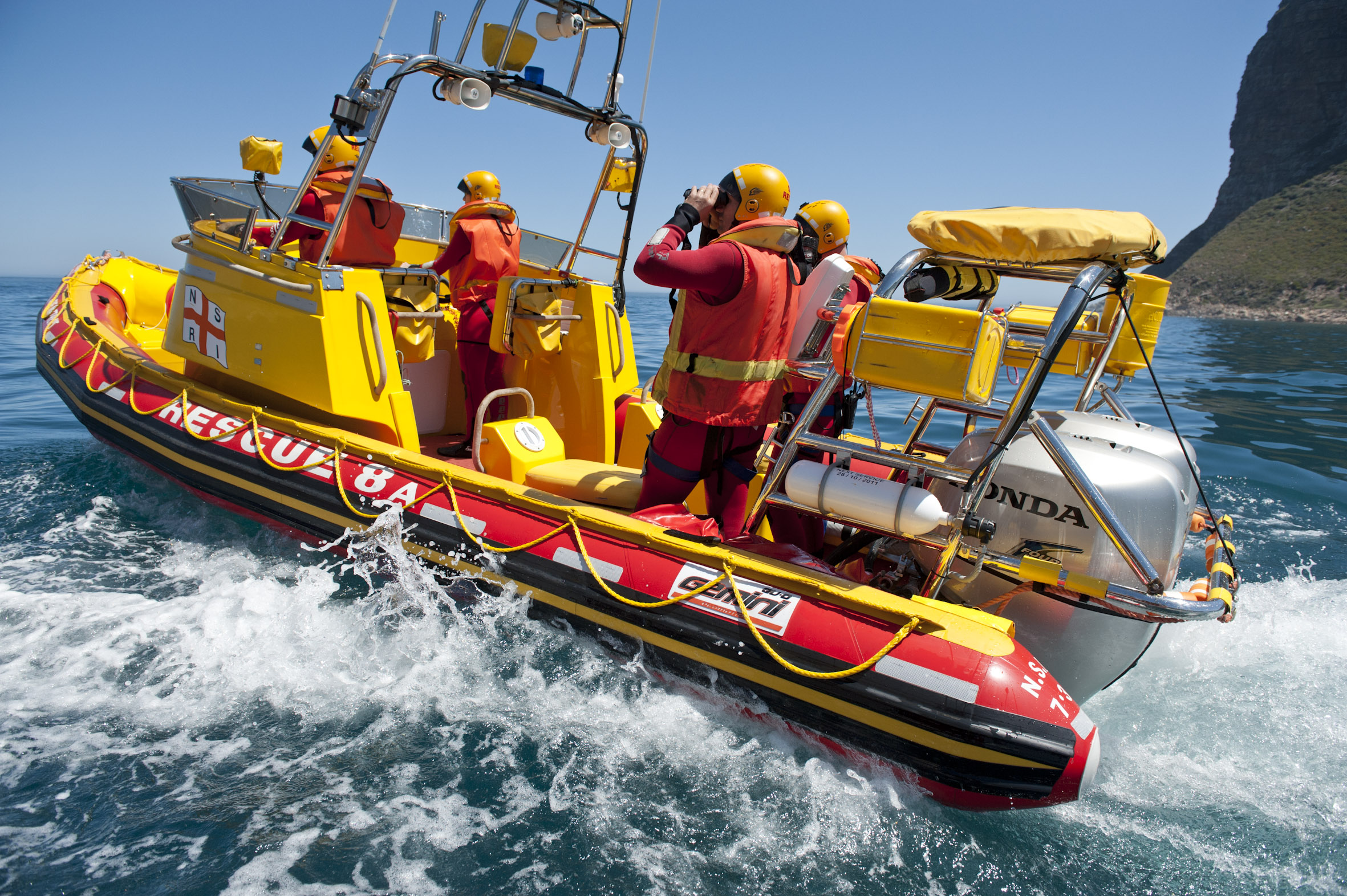 File picture of the Hout Bay rescue boat Albie Mathews