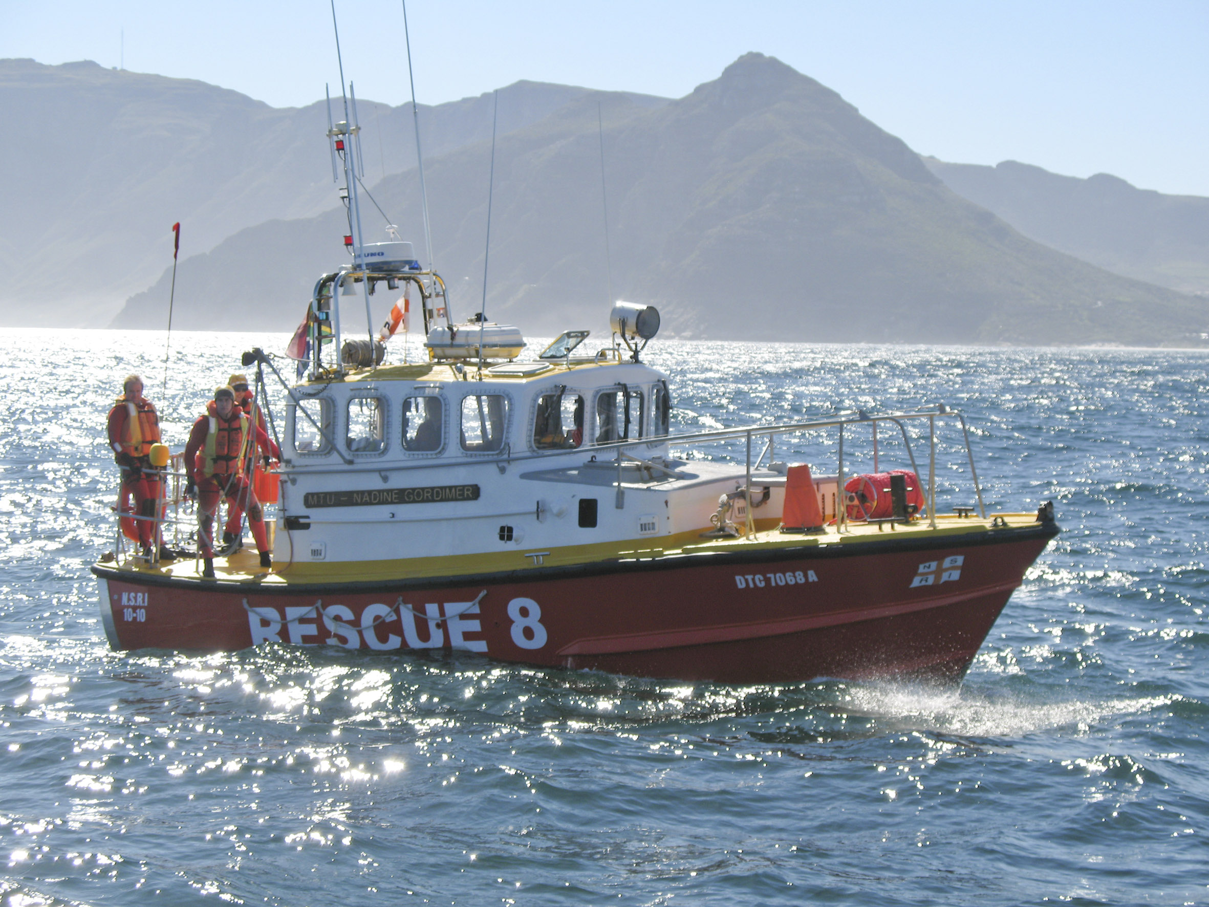 File picture NSRI Hout Bay Nadine Gordimer.