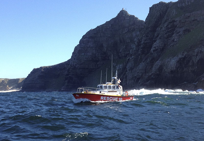 NSRI Simonstown Spirit of Safmarine III. Picture by Kevin Swart.