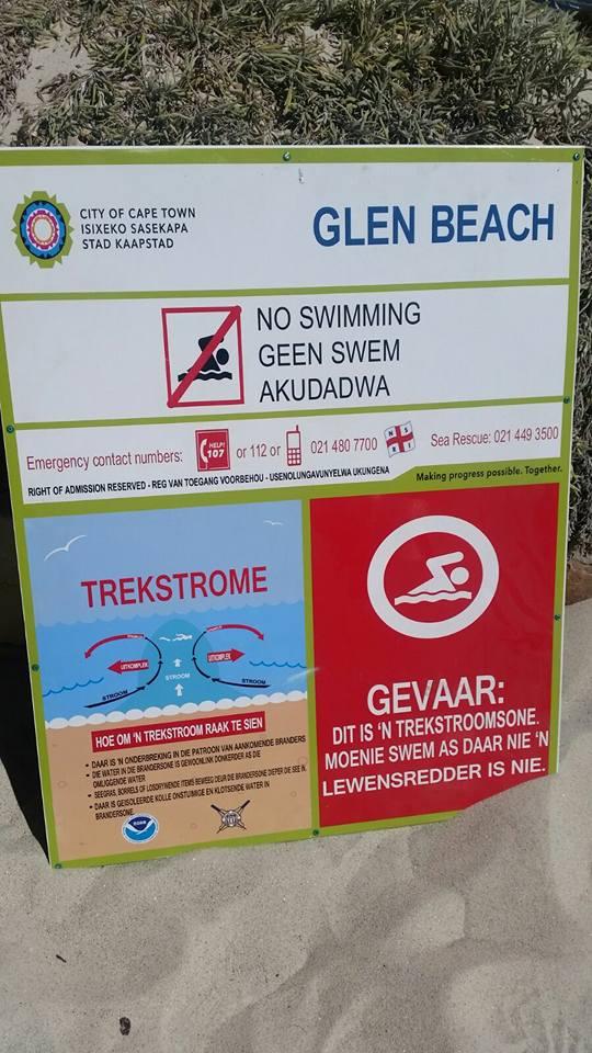 Glen beach safety