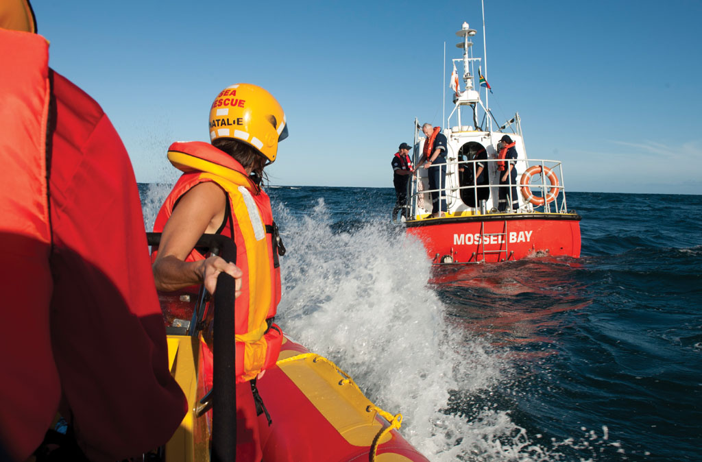 Picture Andrew Ingram / Sea Rescue