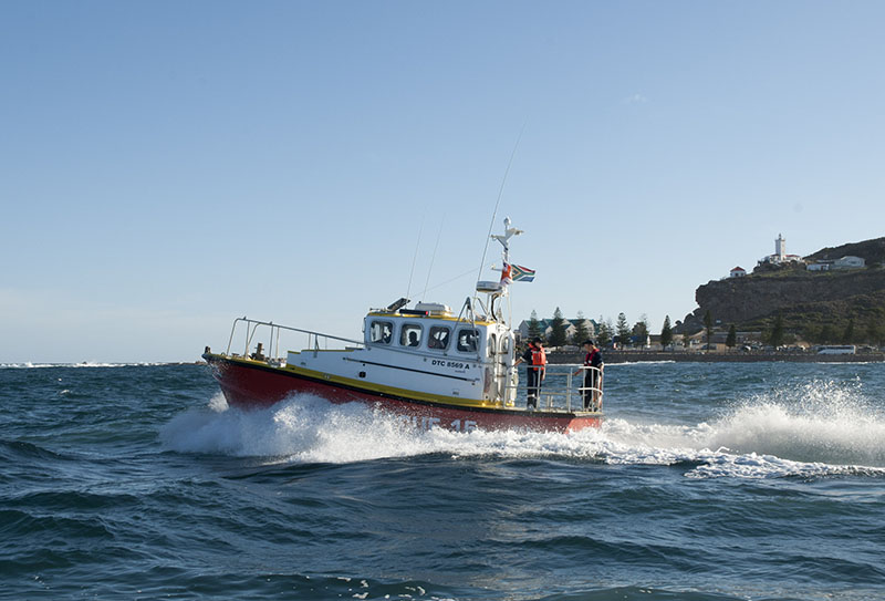 Mossel Bay NSRI boat. Picture Andrew Ingram / Sea Rescue