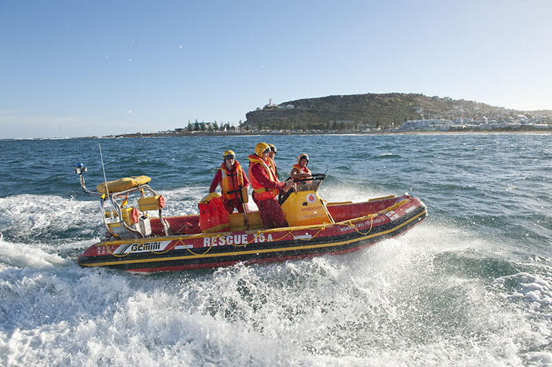Mossel Bay Vodacom Rescuer II Picture Andrew Ingram / Sea Rescue