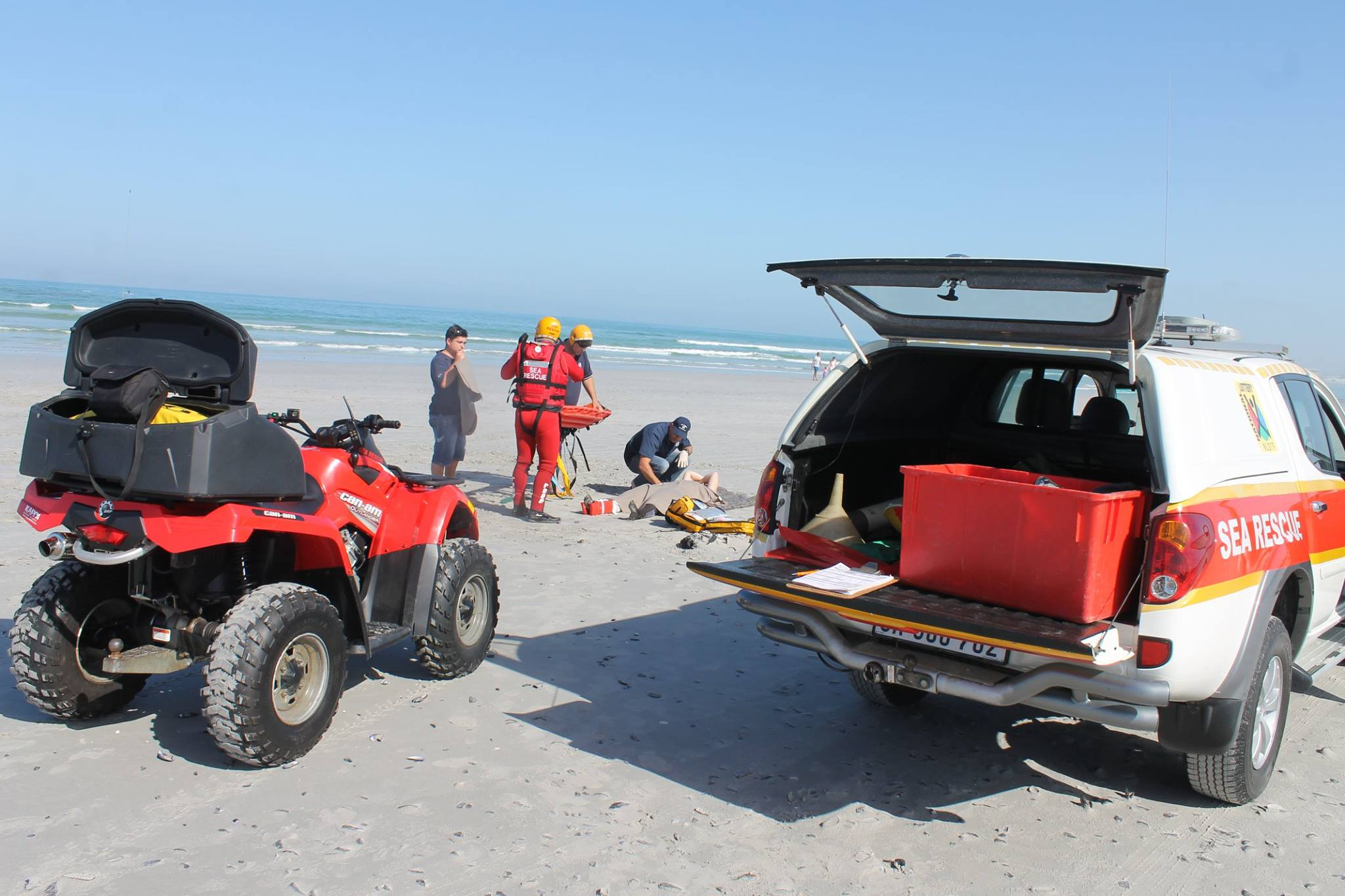 Incidents at Clifton, Fish Hoek, Port Edward, Pearly Beach