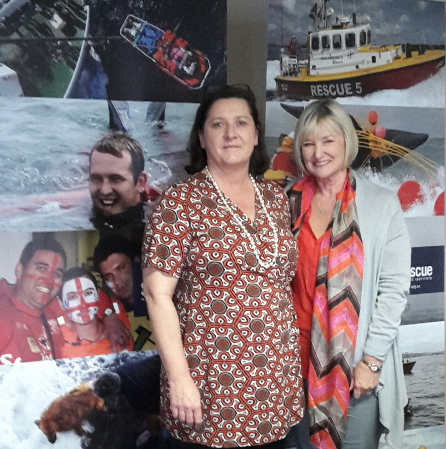 NSRI's Alison Smith and Janet Burgess
