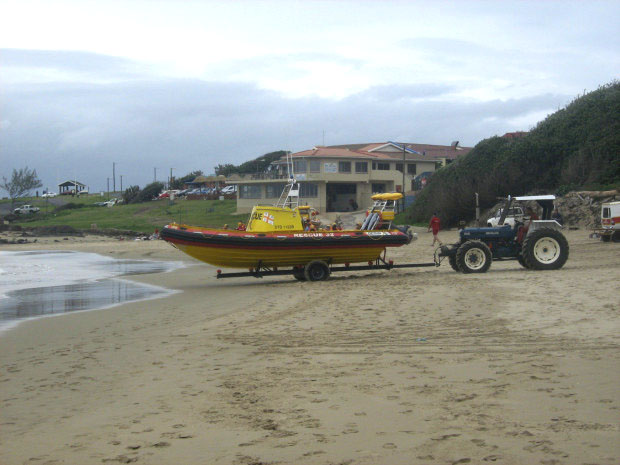 NSRI Port Edward wild coast sun RescuerPicture:    / Sea Rescue