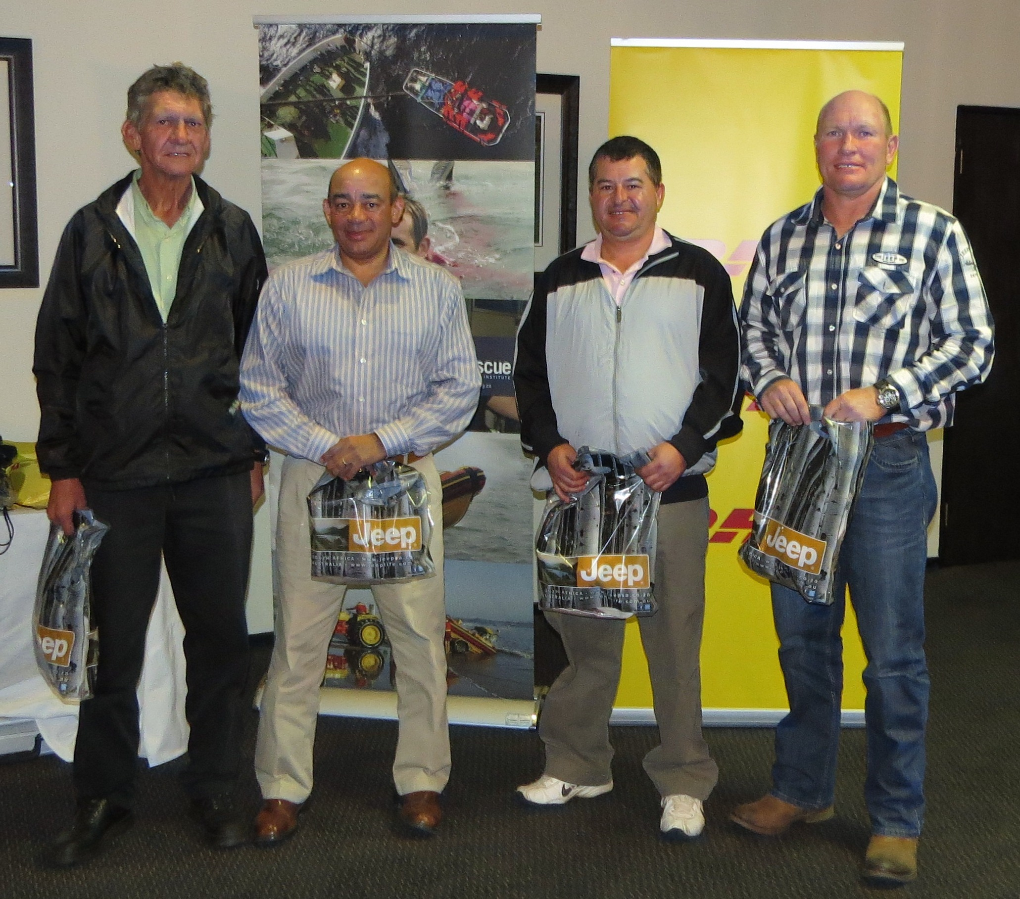 3rd place went to the MACS Maritime 4ball - Pieter Brandon, Mark Smith, Yoran Orlanov & Andre Roux