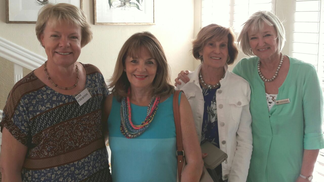 Jane Emerton, Dee Vowles Muriel Rawlins and Janet Burgess