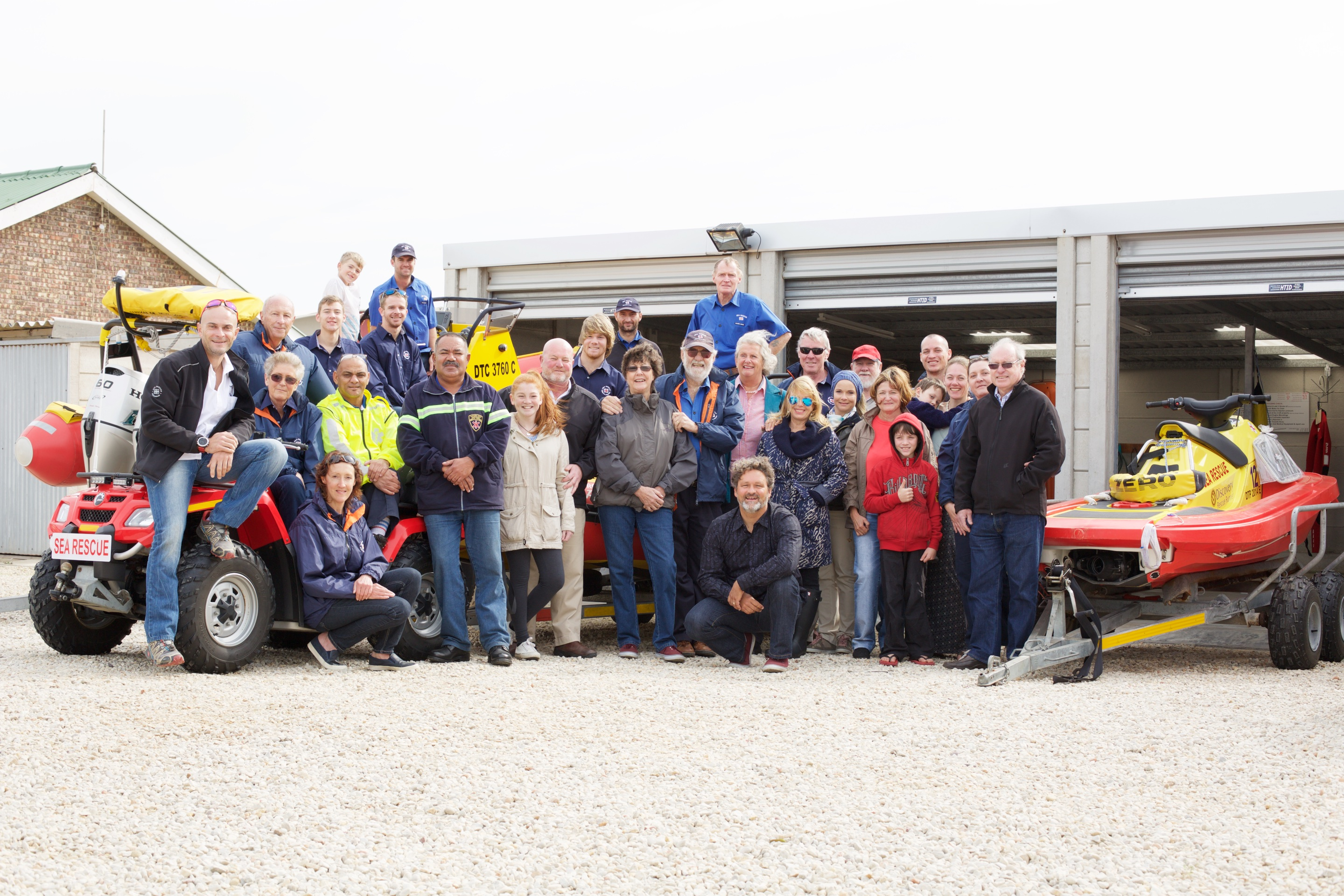 Project Group Rescuer, christening function at NSRI Station 37 | Jeffreys Bay, Captured by AD