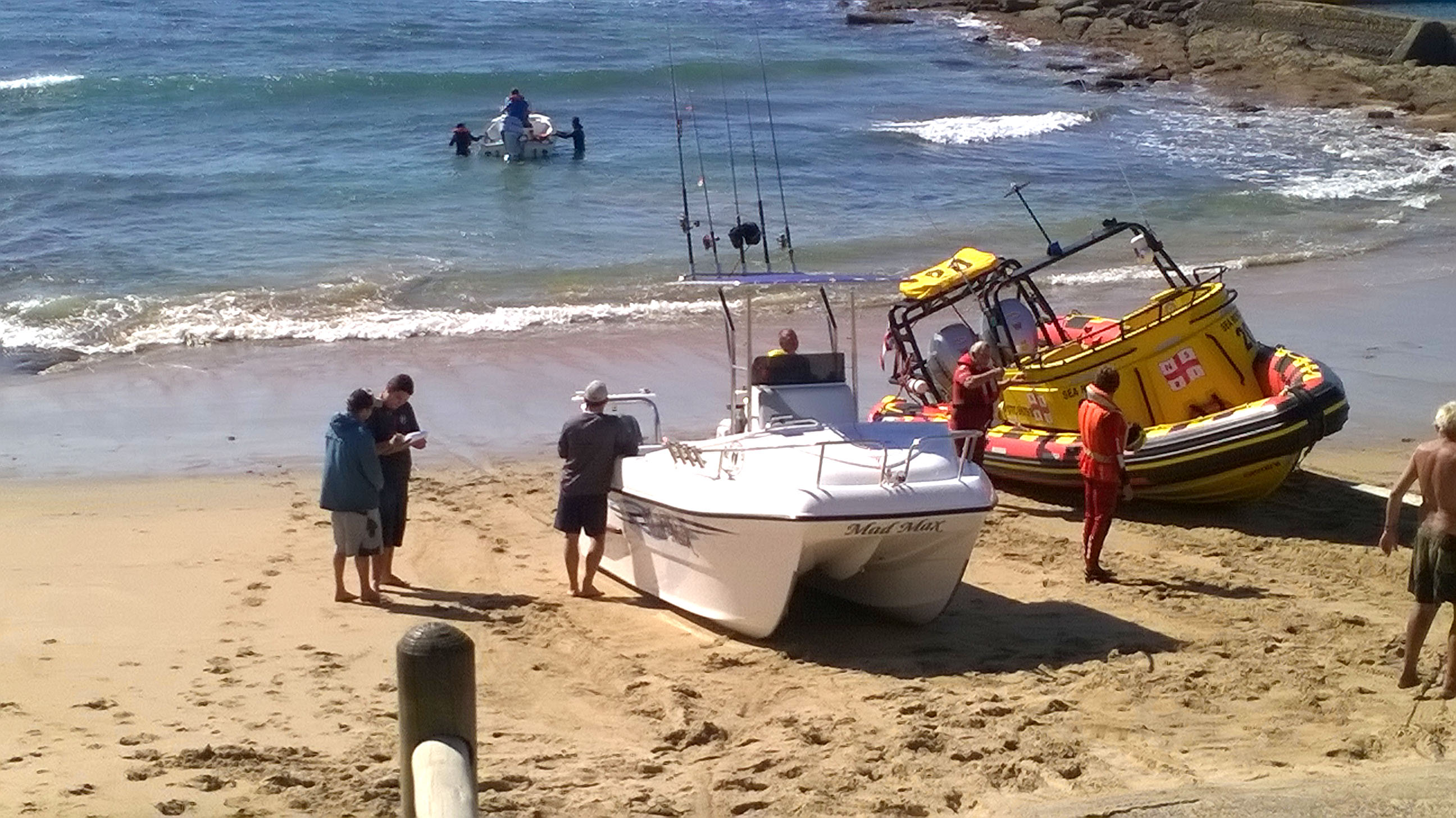 All safe on shore