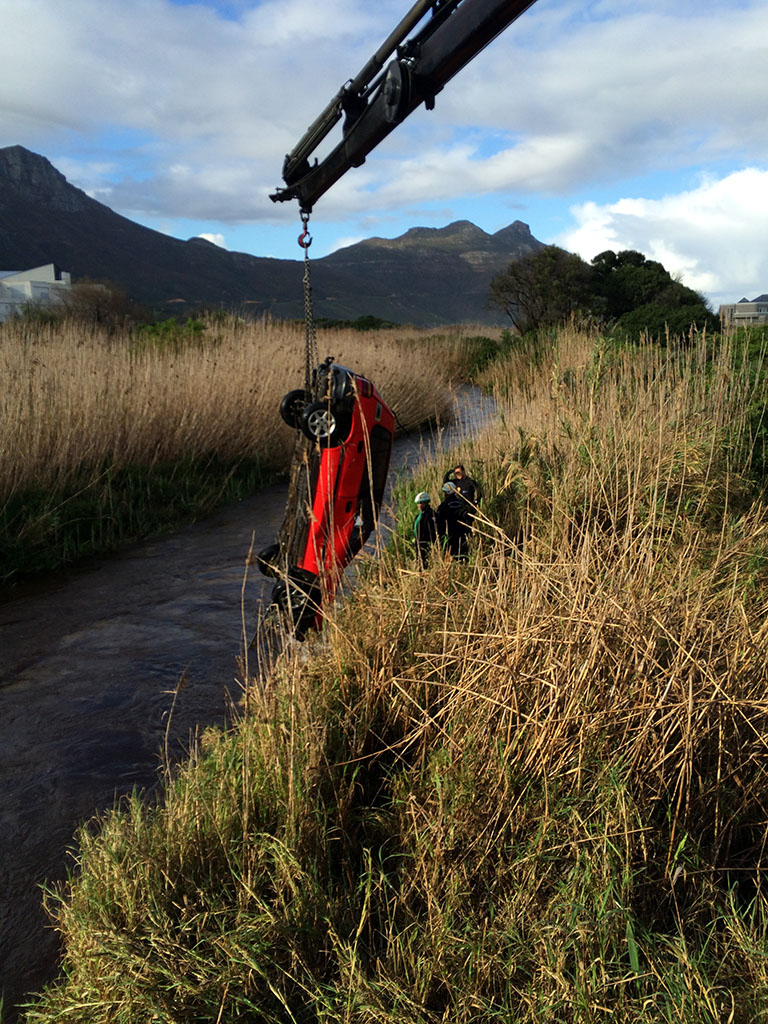 Car Crash - Hout Bay