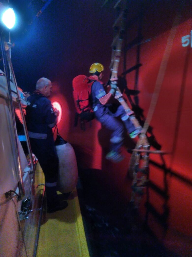 Casualty evacuation off ship 2