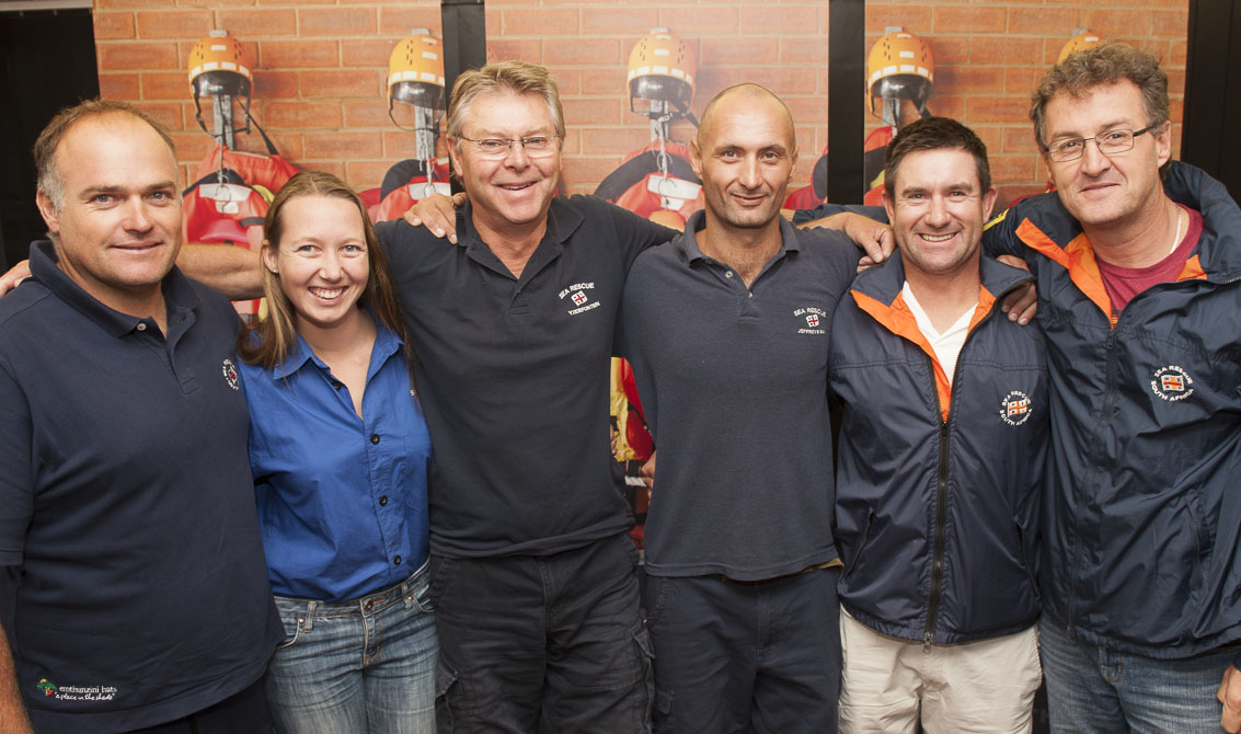 Dave Smith , Megan Laird, Andre Livingstone-Louw,Jason Kotze,Neal Stephenson and Pierre Reeves
