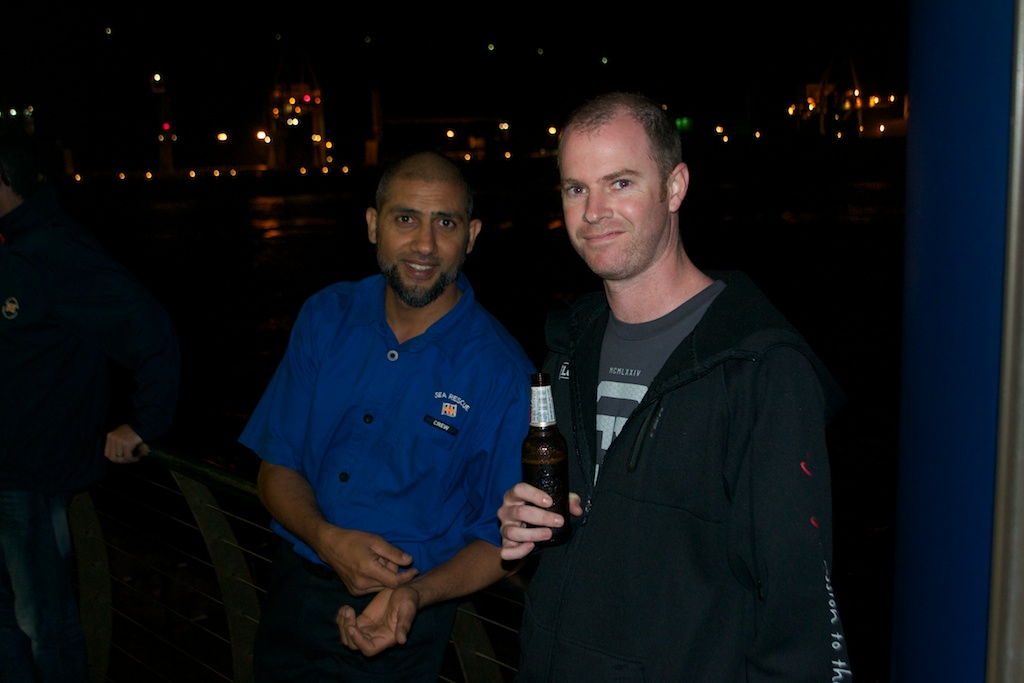 Salim Dadabhay & Gary Clouws discuss the rescue.