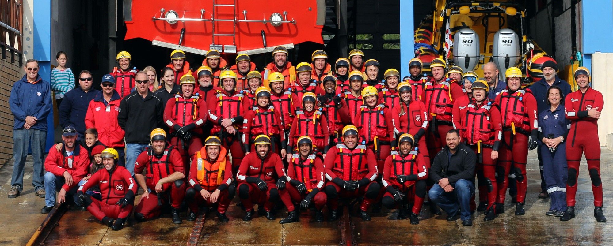 Join the Sea Rescue family Pic: Chris McCarthy/Makena