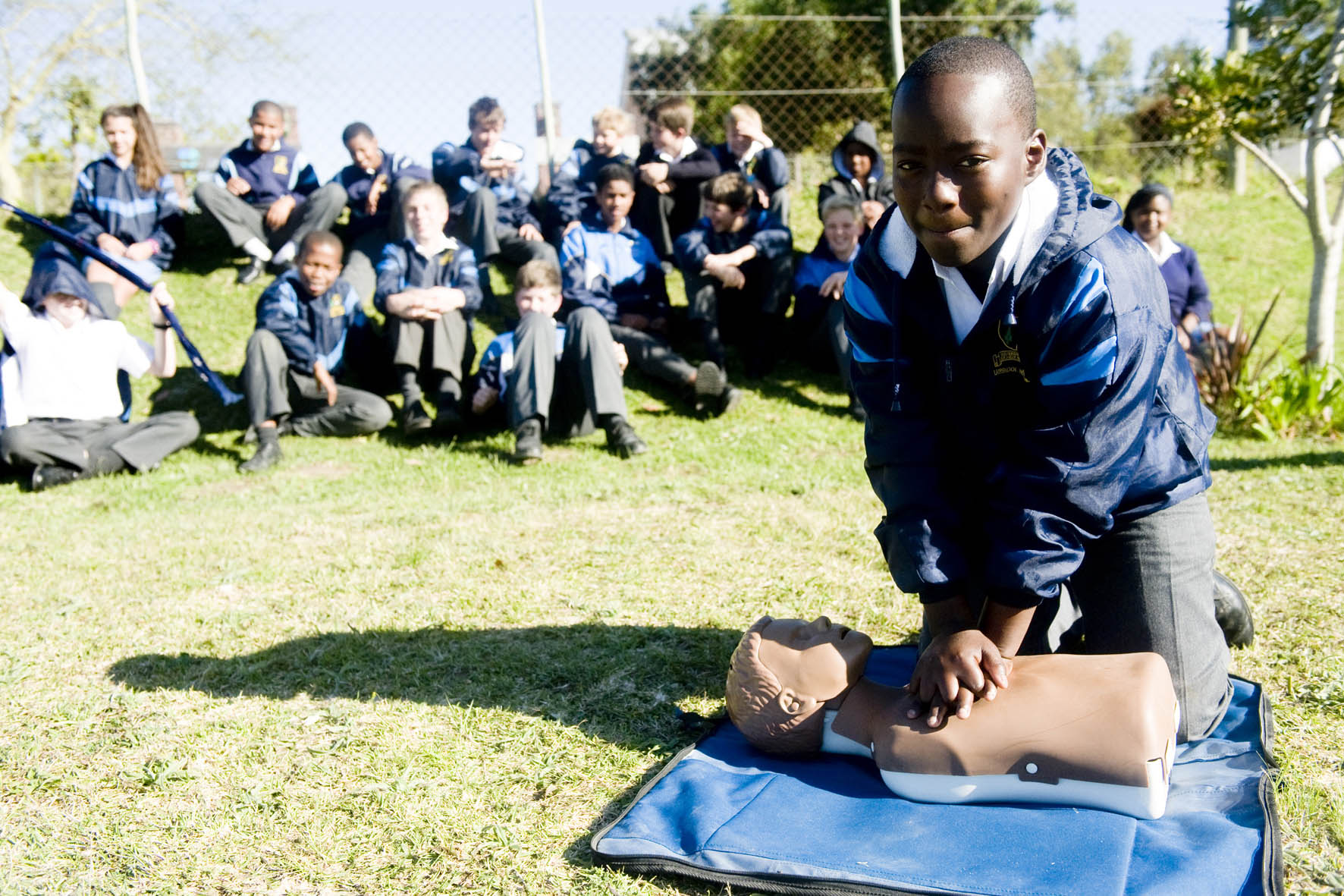 Hoekwil Primary invited me back after a year.