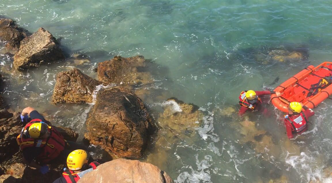 Practical Training Scenarios this weekend at Gordon's Bay