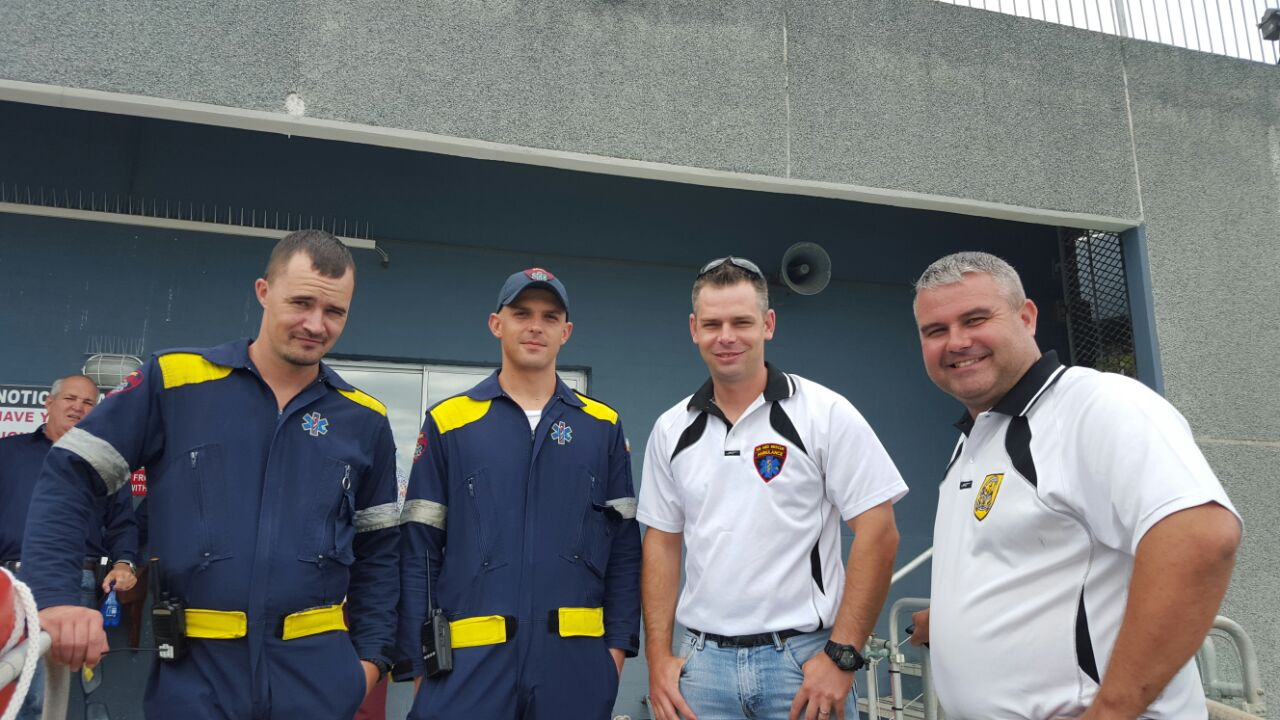 Our colleagues from Gordons Bay Security (GBSec)