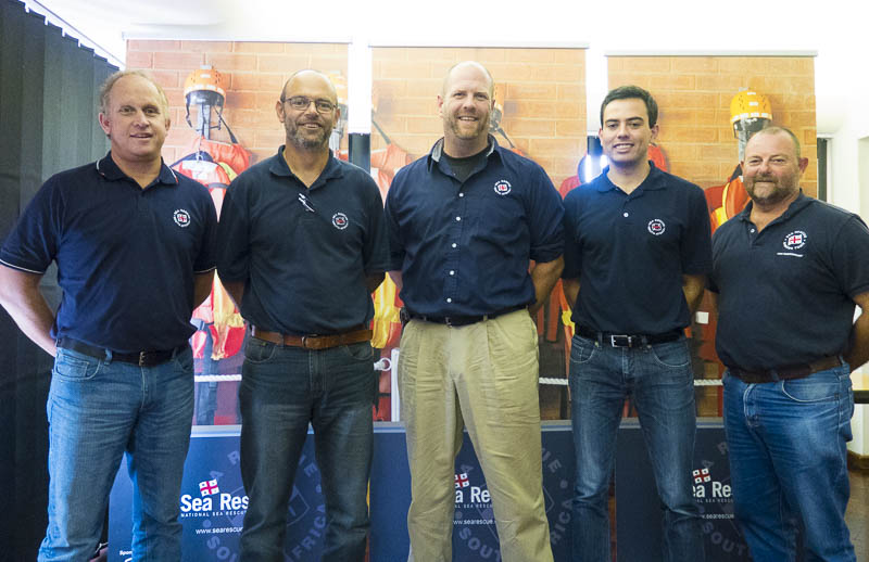 This weekend we host another Coxswain Cls 1 course. We appreciate the time you have given up with your families, thank you. From left to right: Graeme Harding (Training Officer), Jean Le Roux (Hermanus), Daniel Heimann (Training Officer), Marc de Vos (Table Bay), and Robbie Robinson (Simonstown).