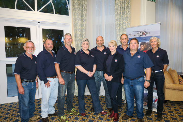 NSRI Simon's Town Rescue crew, assisting with the lots. Denis Zimmerman, Robbie Robinson, Roy Thomas, Tanya Meth, Herbie Meth,Julie Geddes, Dave Roberts (OBM), Darren Zimmerman (Station Commander) and Sharon Crowther.