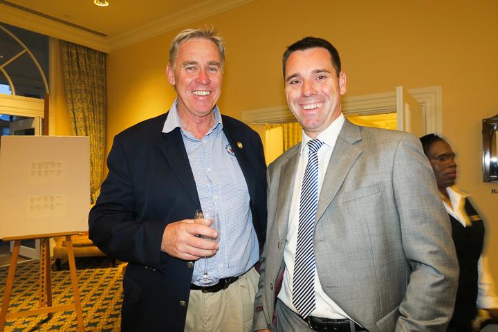 Cleeve Robertson (NSRI CEO) and Adriaan Hoeben (Marine Solutions)