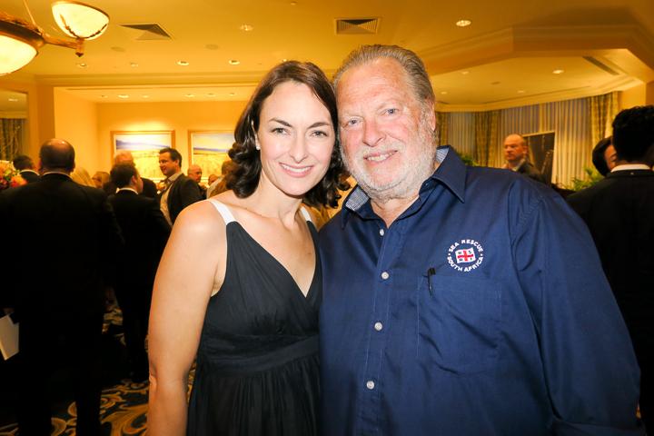 Krista Lazzari and Ian Weinberg (NSRI and Rotary Table Bay)