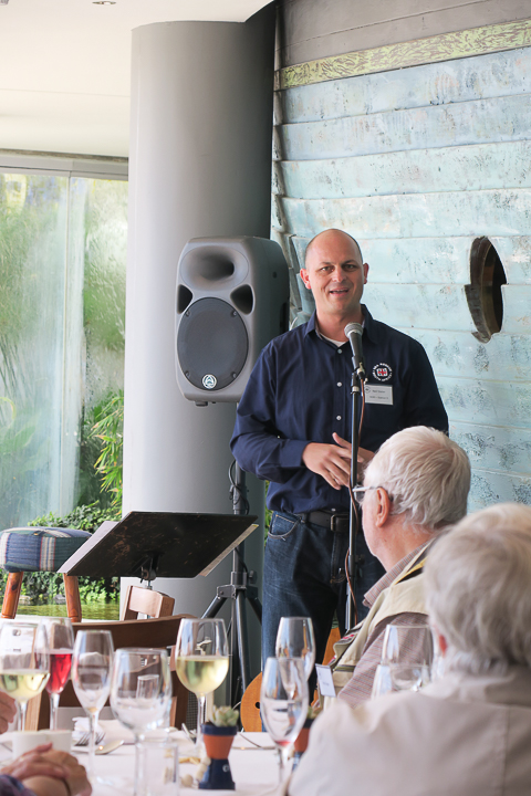 Guest Speaker, Neil Slater (Deputy Station Commander at Station 9 Gordon's Bay)