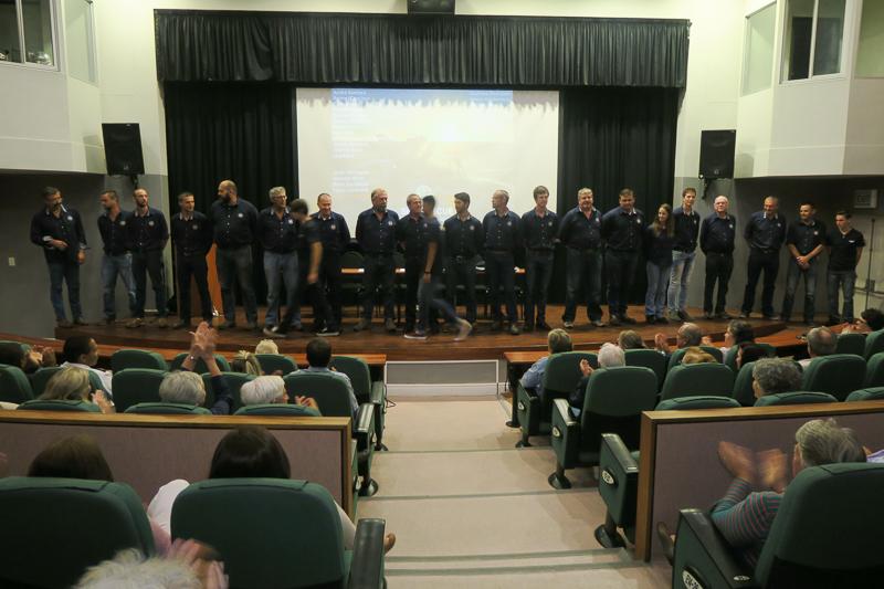 Honouring the crew