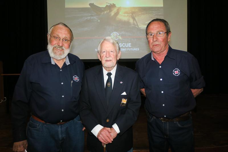 Founding members, Michael Clark, George Stoddard and Ian Alton