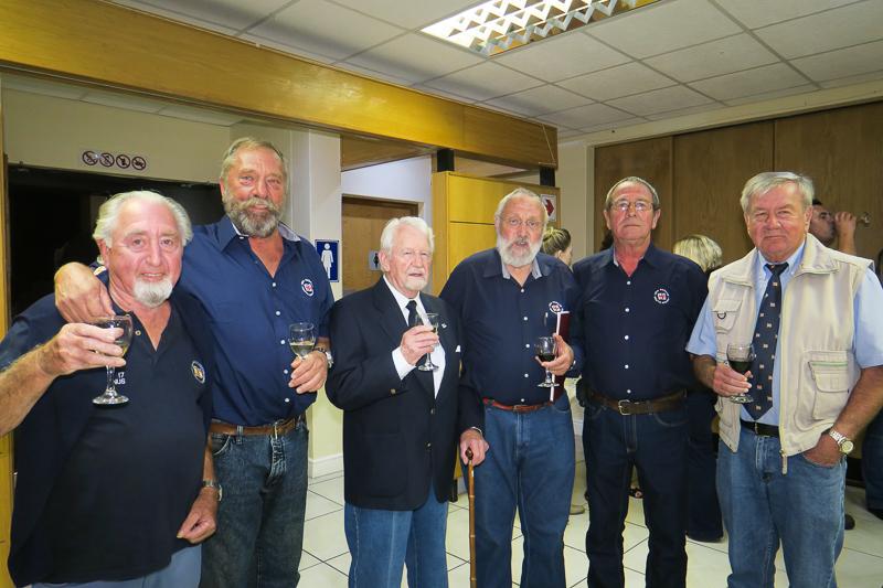 John Roberts, Henk Henn, George Stoddard, Michael Clark, Ian Alton and Peter Dagg