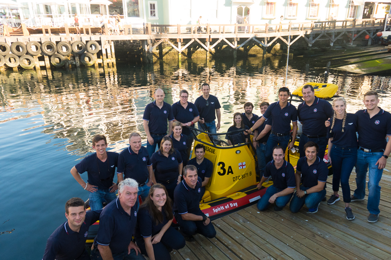 Volunteer crew of Station 3 Table Bay