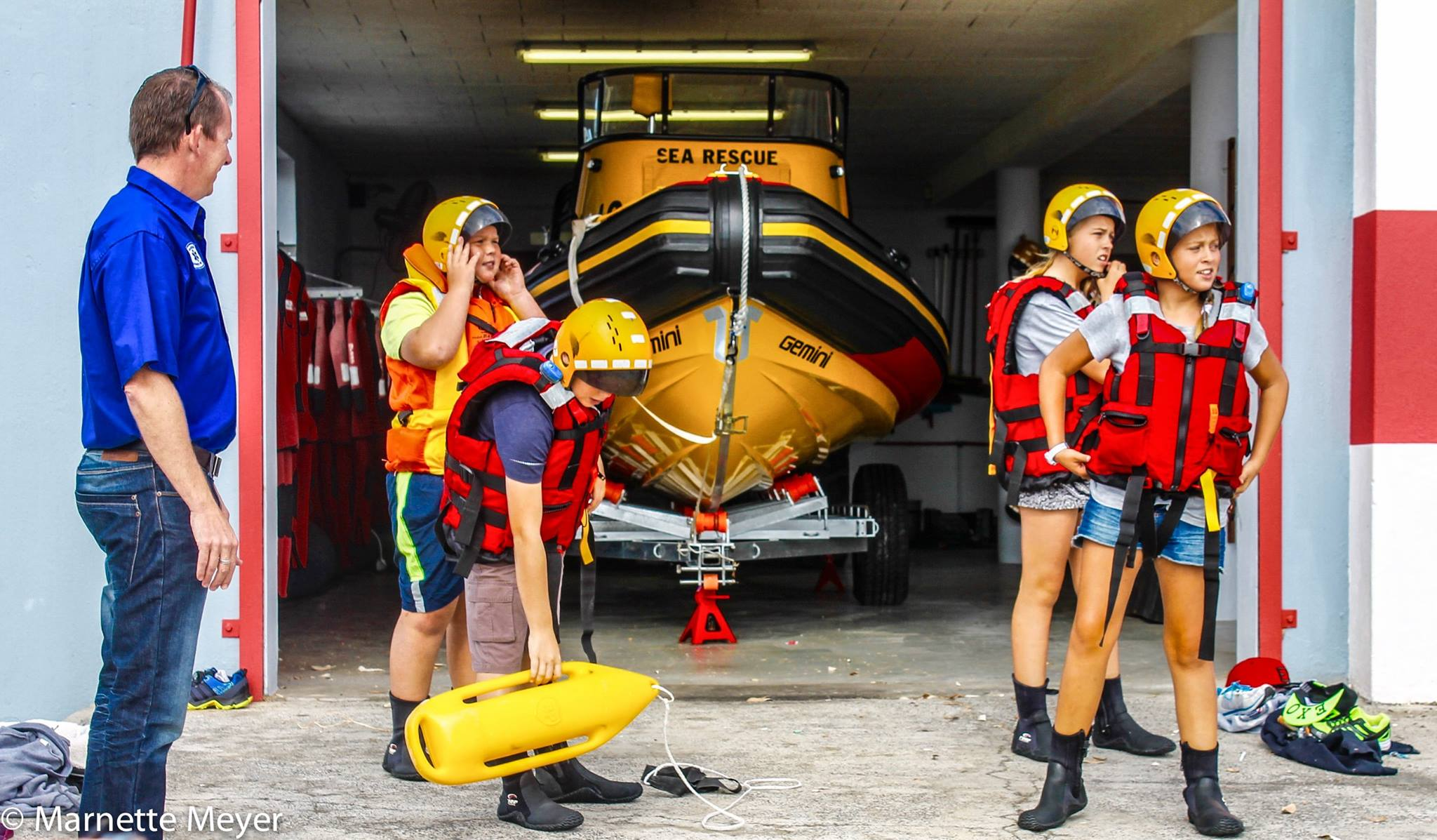 NSRI Melkbos host a Junior Academy Pilot Project for teens