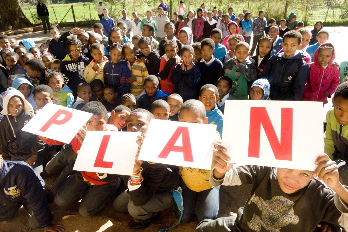 Learners from Grootkraal Primary in Oudtshoorn.