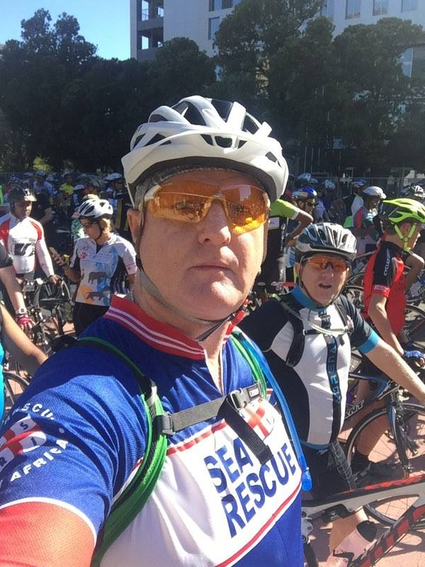 """Thanks for the top. I got a lot of recognition and encouragement from the public with it on. Awesome. I took 50 minutes off my previous ride. It's a very fast cycling top !"" said Mark Beard, Knysna"