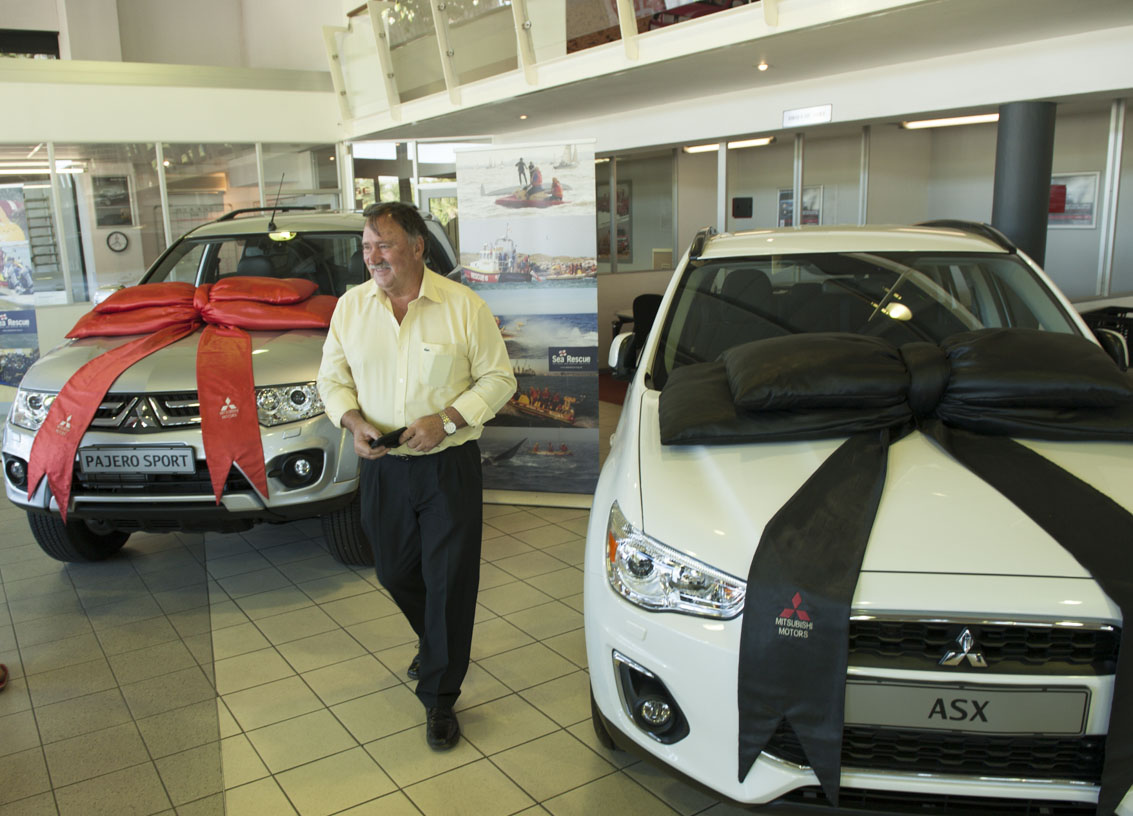 The winner of the 2014 NSRI double Mitsubishi competition was Mauritz Jonk.