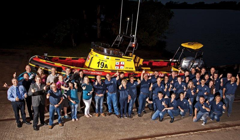 Round Table and NSRI (Picture: Gavin Fordham)