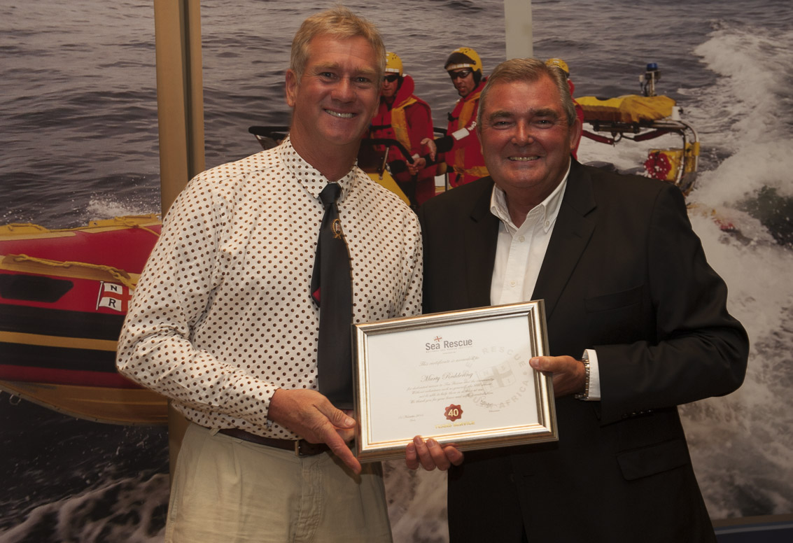 Marty Reddering – Station 14 Plettenberg Bay. 40 years