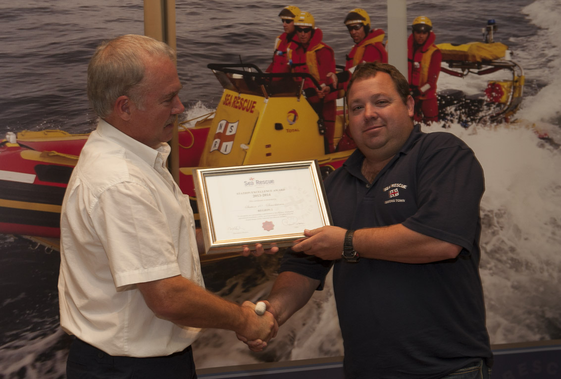 STATION EXCELLENCE AWARDS Region 2 – Station 10 Simonstown Darren Zimmerman.