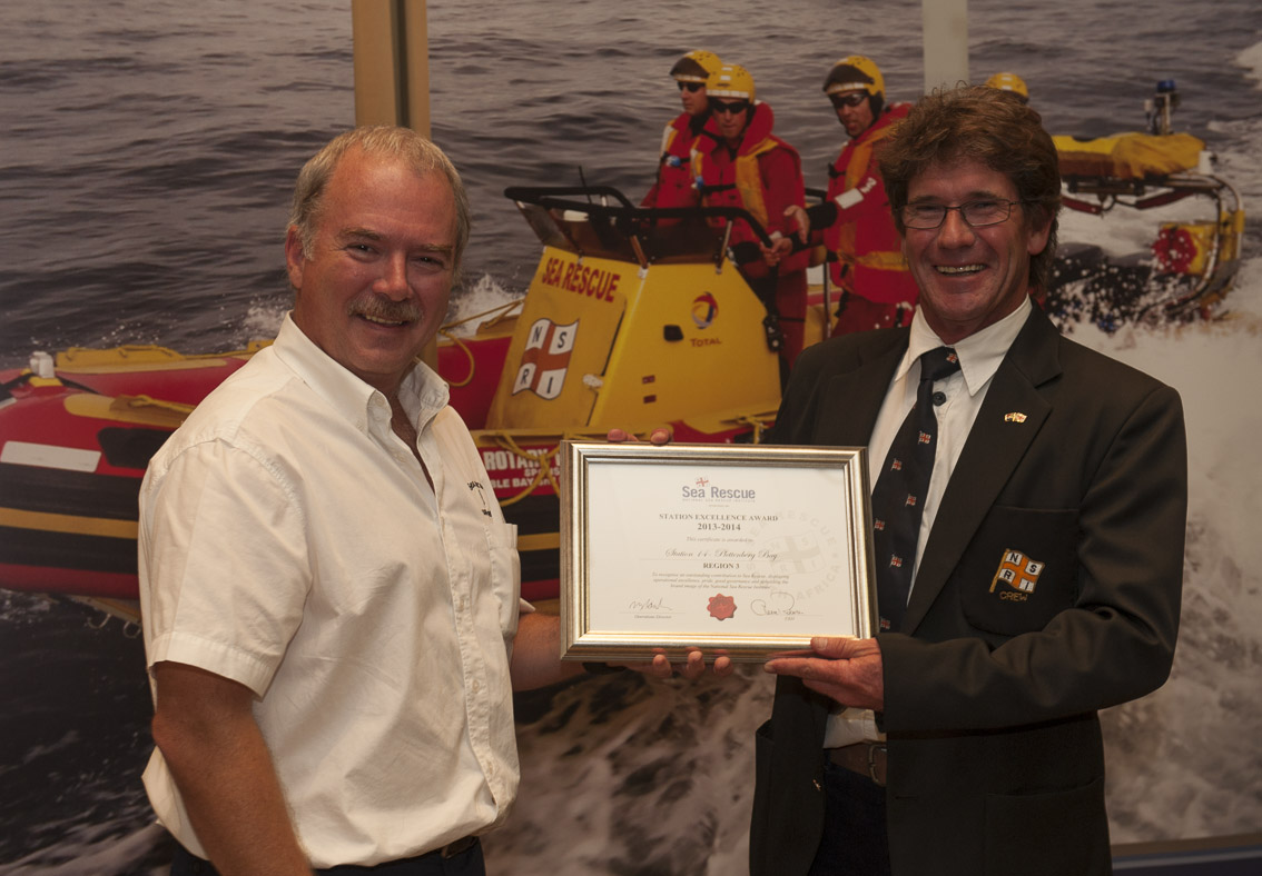 STATION EXCELLENCE AWARDS Region 3 – Station 14 Plettenberg Bay. Deon Truter.