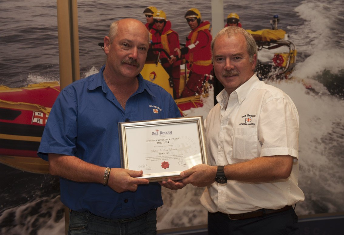 STATION EXCELLENCE AWARDS. Region 4 – Station 37 Jeffrey's Bay. Geoff McGregor.