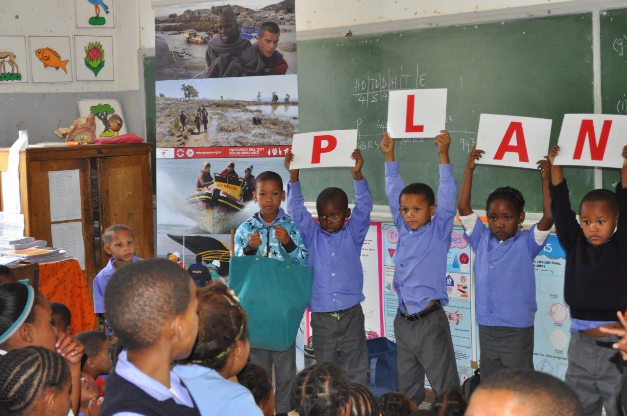 Die meeste leerders van Piet Hugo Gedenk-skool het die PLAN van verlede jaar onthou!!