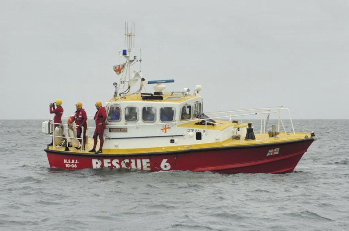 06 Port Elizabeth PE story article Picture:    / Sea Rescue