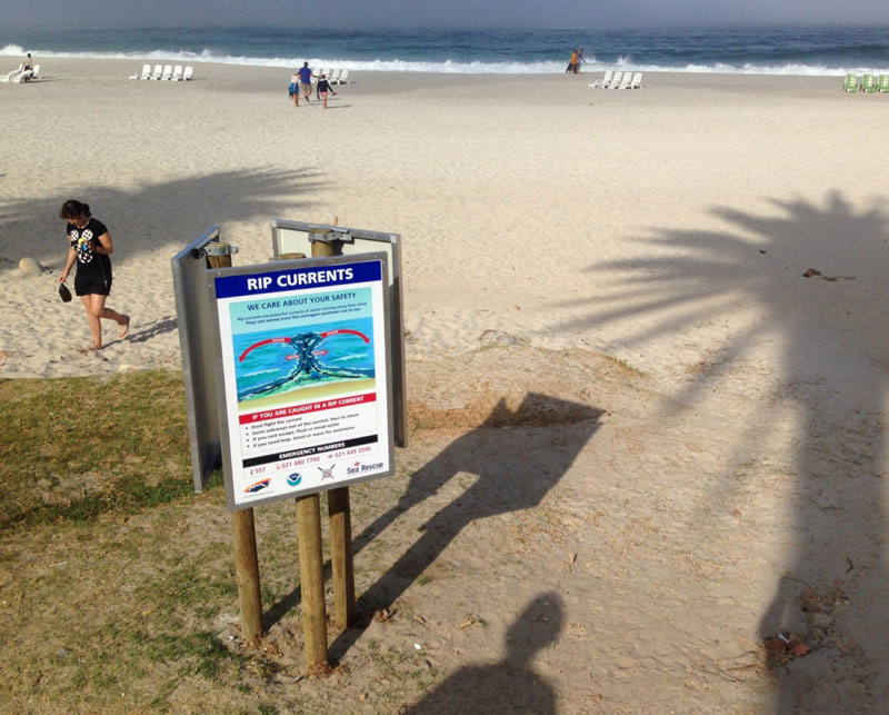 RIP Current Poster - Camps Bay