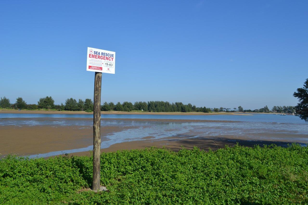 Richards Bay emergency signs
