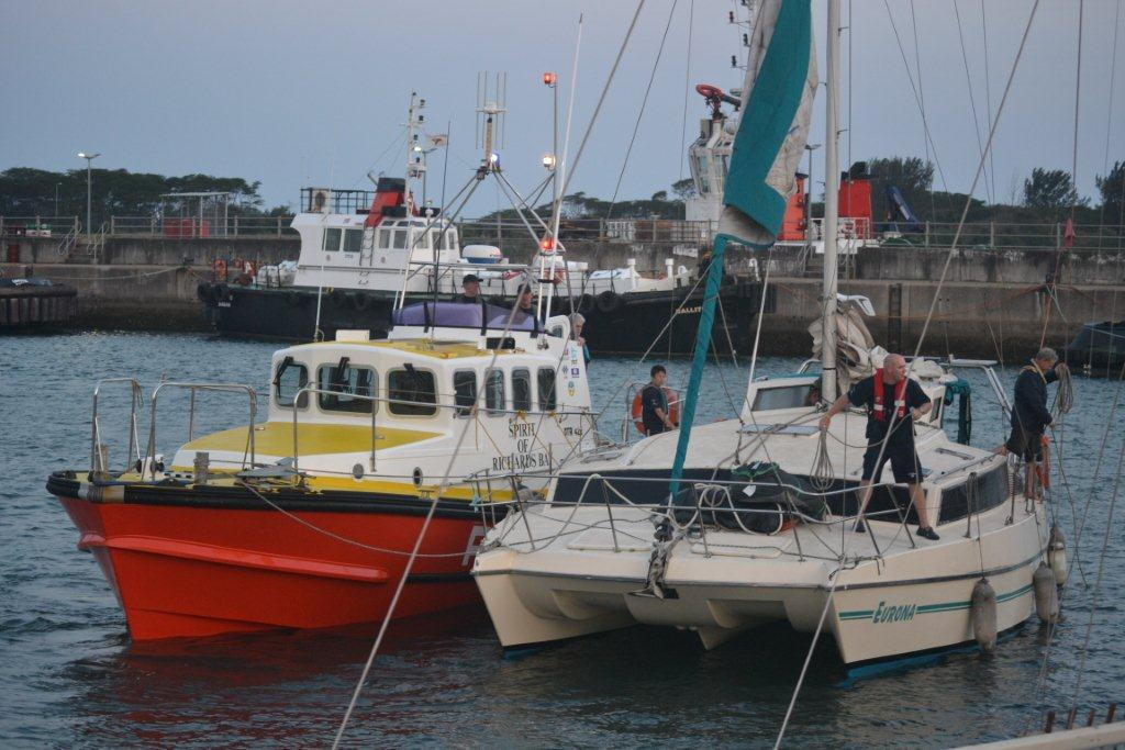 Spirit of Richards Bay and EURONA. Picture Brynn Gericke.