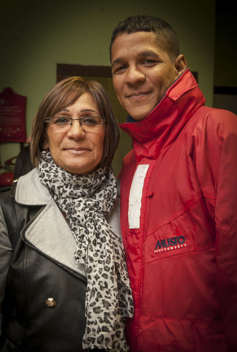 Robin and his mother Colleen Fortuin.