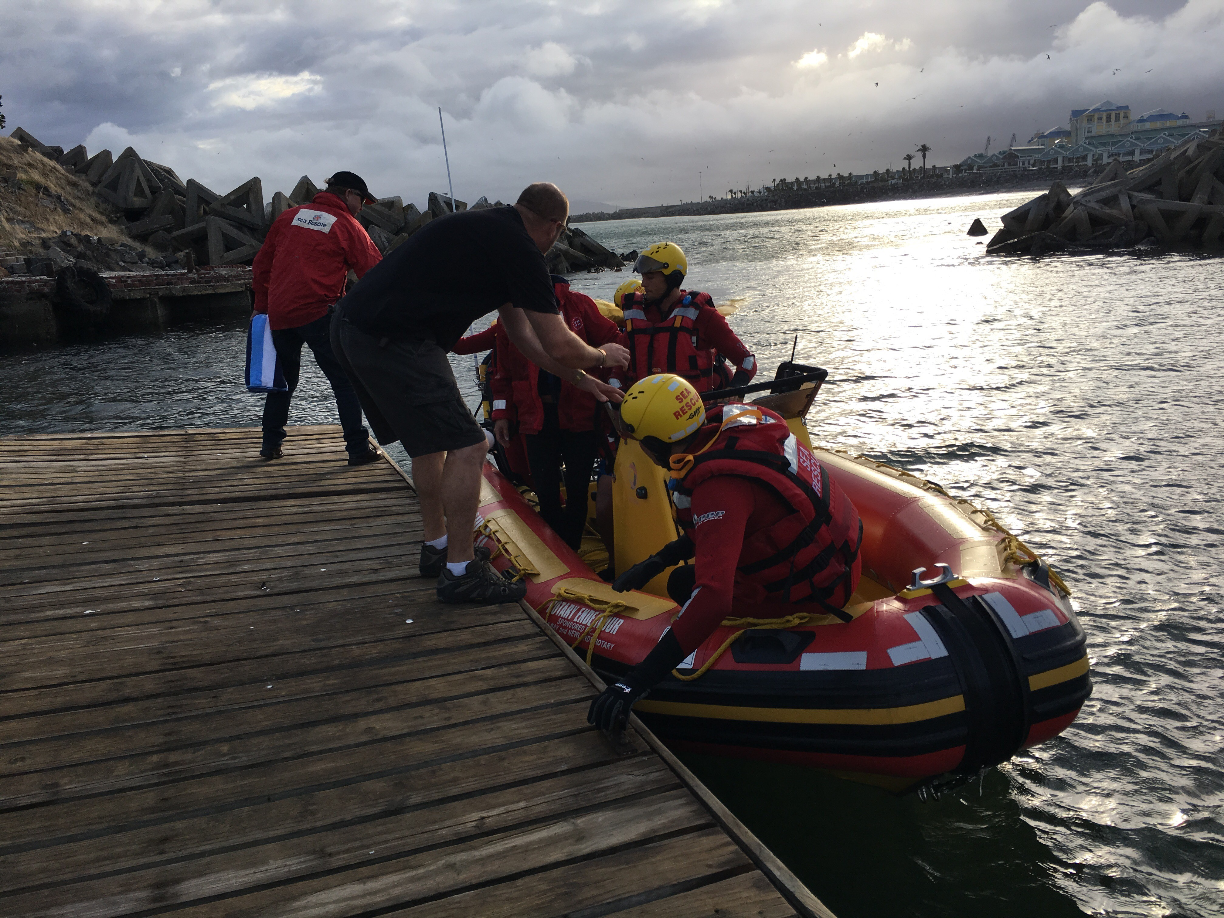 Pic: Robyn Silverstone, NSRI Table Bay