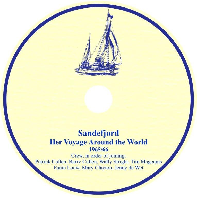 Sandefjord dvd disk label