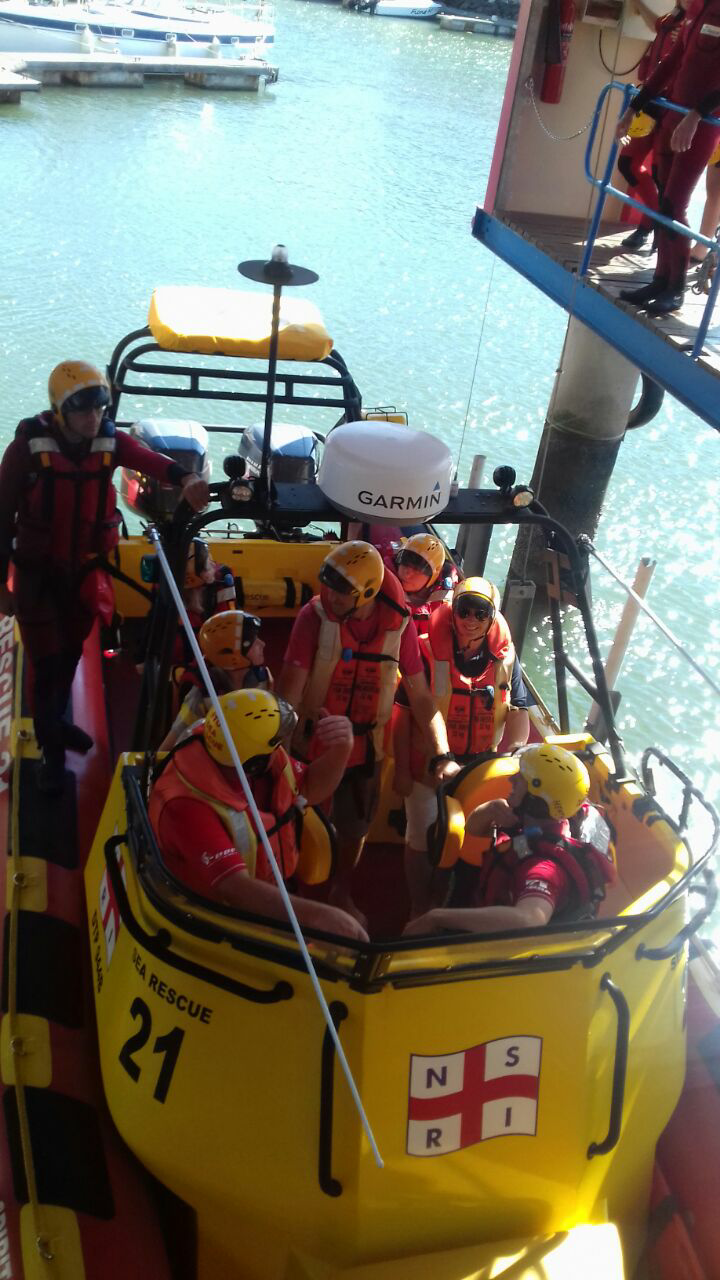 Craig and Judy Venter with our rescue crew
